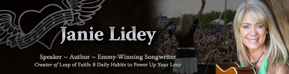 Janie Lidey, Motivational Speaker, Author, Emmy-Winning Songwriter